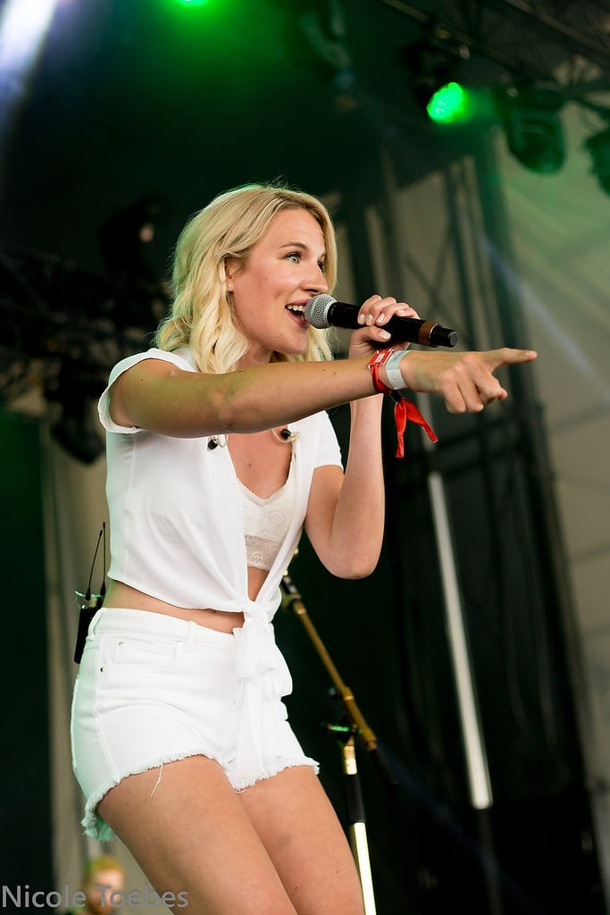 Karli June performs at the Boots & Hearts Emerging Artist Showcase in 2018