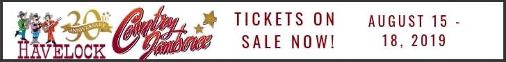 Buy Tickets for the 2019 Havelock Country Jabmoree