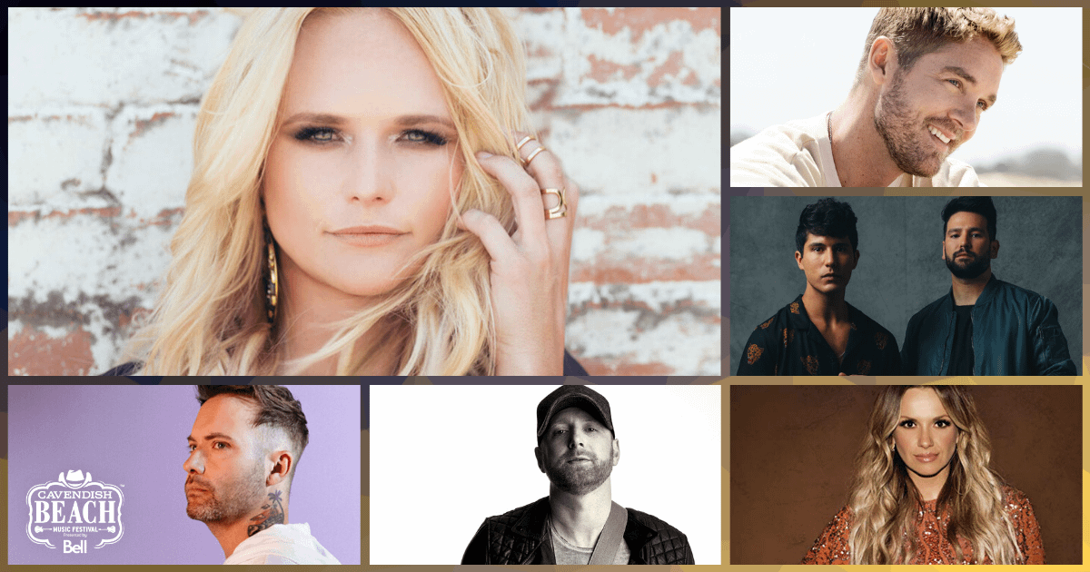 the 2020 Lineup for the Cavendish Beach Music Festival