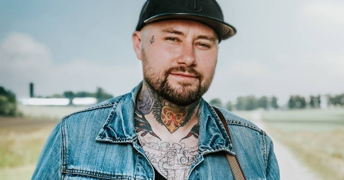 Country artist Aaaron Allen and his tattoos