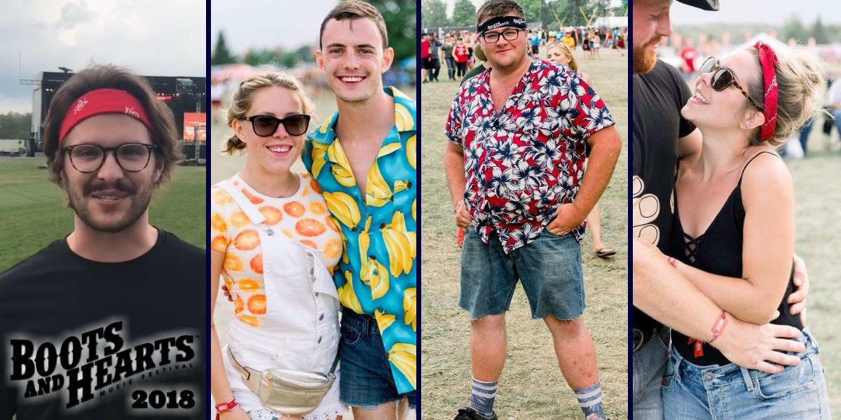 Top 5 Fashion Trends at Boots & Hearts