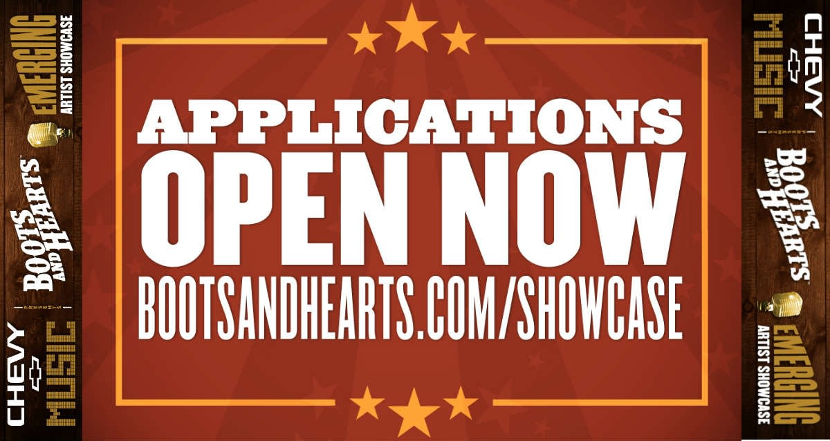 The Boots and Hearts 2019 Emerging Artist Showcase