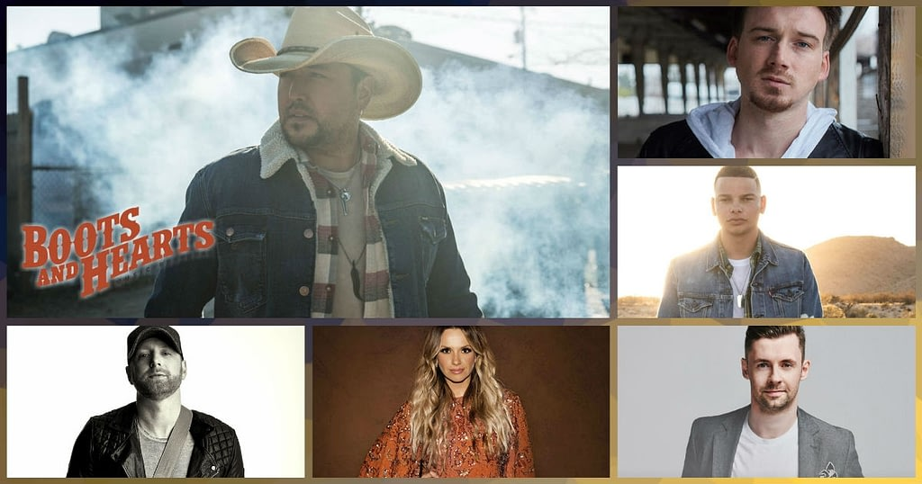 Jason Aldean, Carly Pearce, Kane Brown and more are performing on Sunday at the 2019 Boots & Hearts Music Fesival