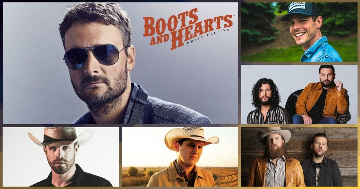 the full 2020 Boots & Hearts Lineup