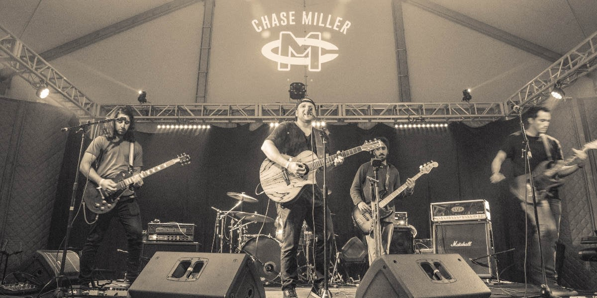 Chase Miller performing