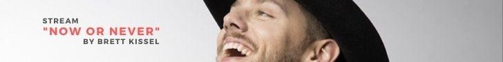 "Stream the latest album ""Now or Never"" by Brett Kissel"