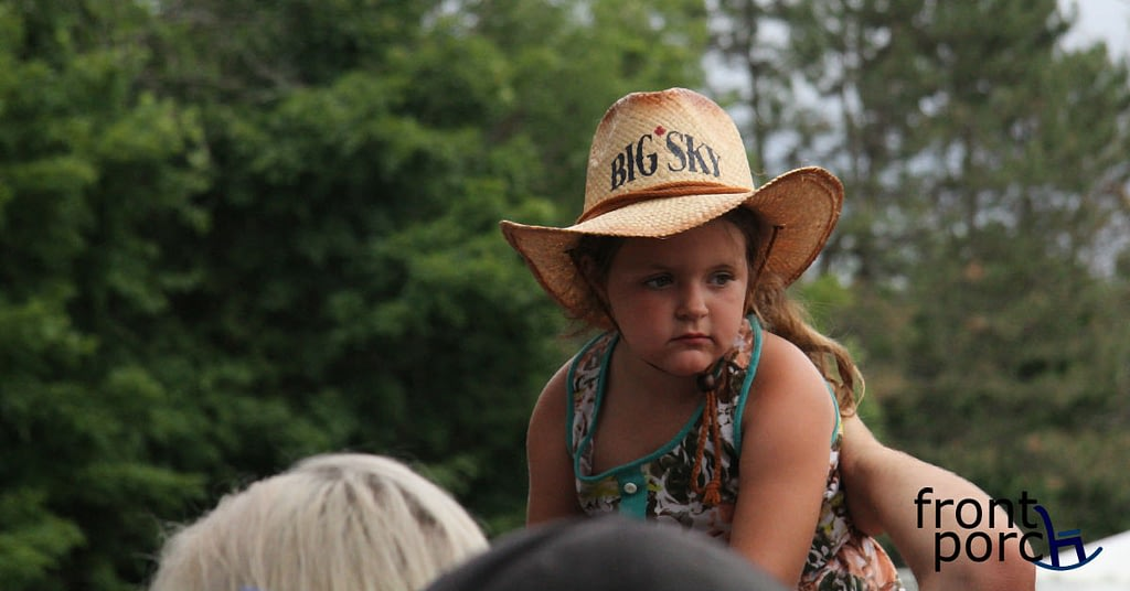 One of Mason Ramsey's most dedicated fans!