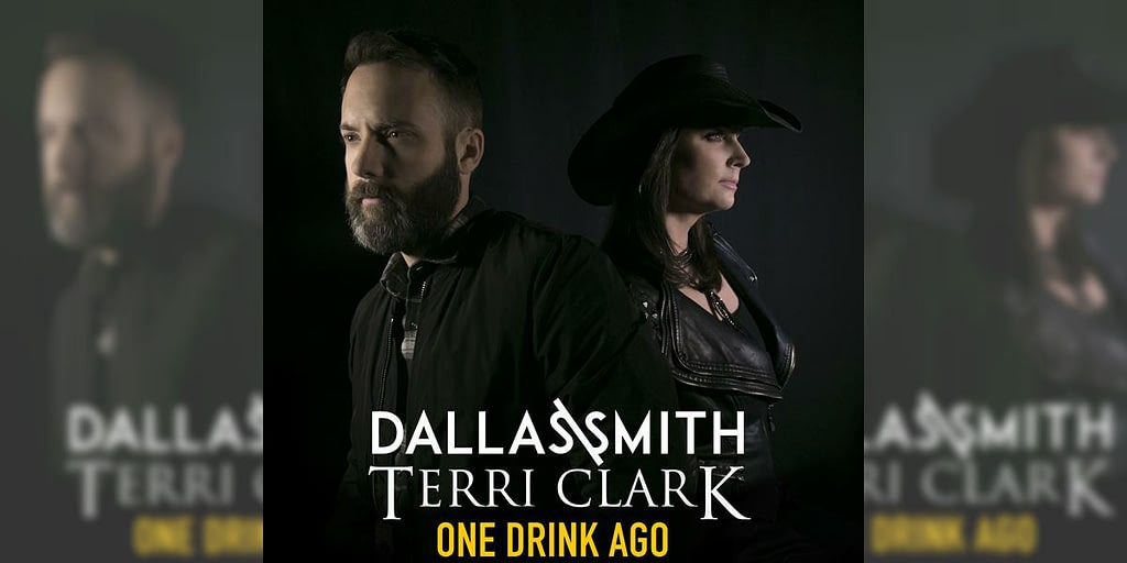 Terri Clark and Dallas Smith new single One Drink Ago
