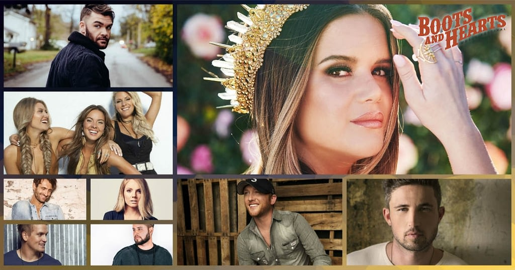 Friday Boots & Hearts Friday 2019 Lineup includes Maren Morris, Cole Swindell, Levi Hummon, Dylan Scott and many more