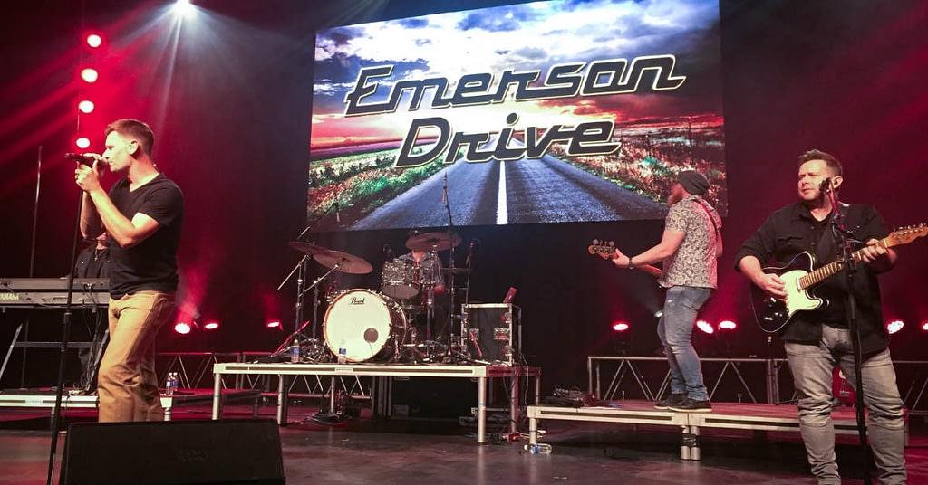 Emerson Drive performing in Edmonton at the River Cree Resort and Casino