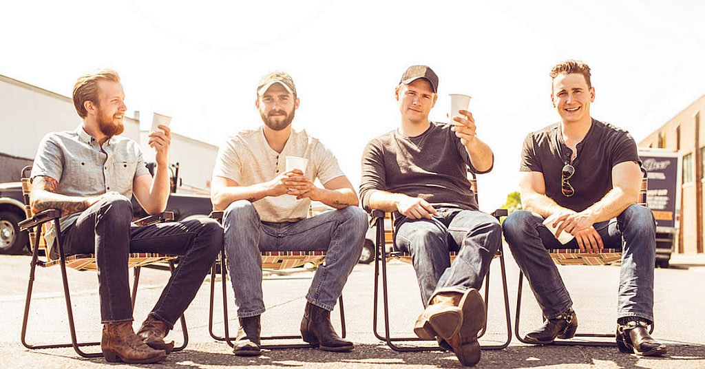 James Barker Band's single Lawn Chair Lazy