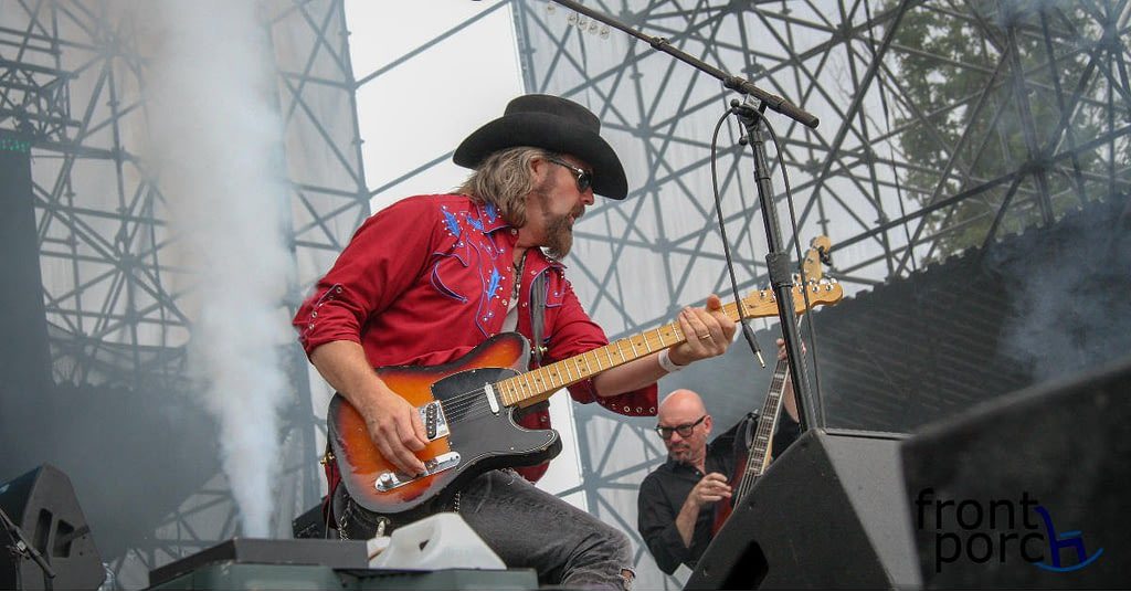 Jason McCoy from Pure Country performing live at Big Sky Music Festival