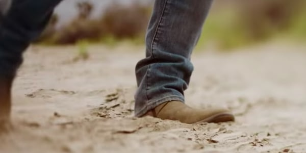 Cool Cowboy Boots on Tim Hicks