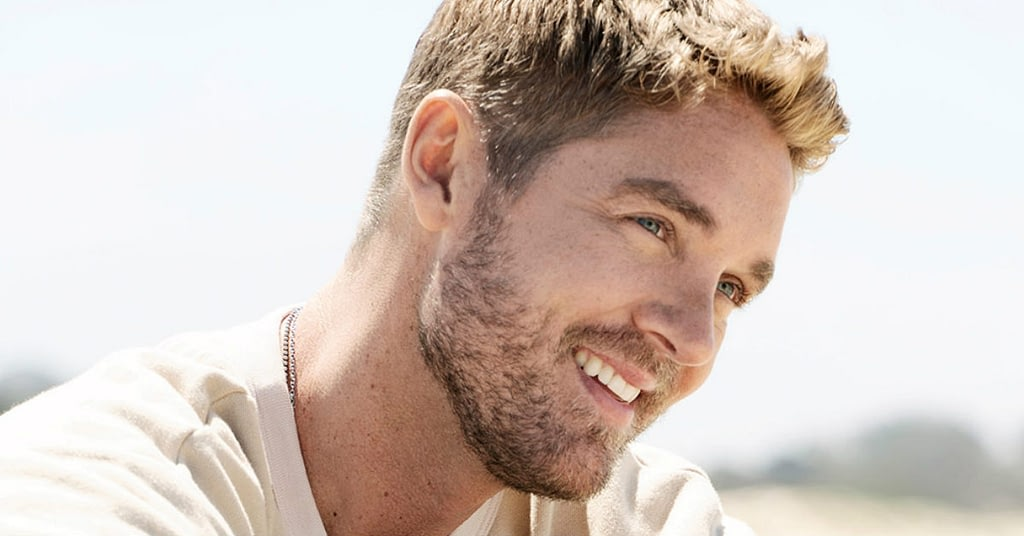 Brett Young performing at the 2020 Cavendish Beach Music Festival