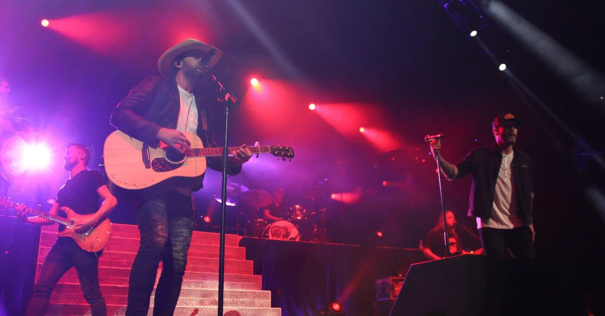 Dean Brody and Dallas Smith Perform at Rogers Place in Edmonton