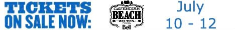 Get tickets for 2020 Cavendish Beach Music Festival