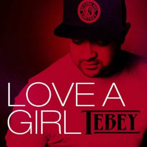 Cover art for Tebey's new EP Love a Girl