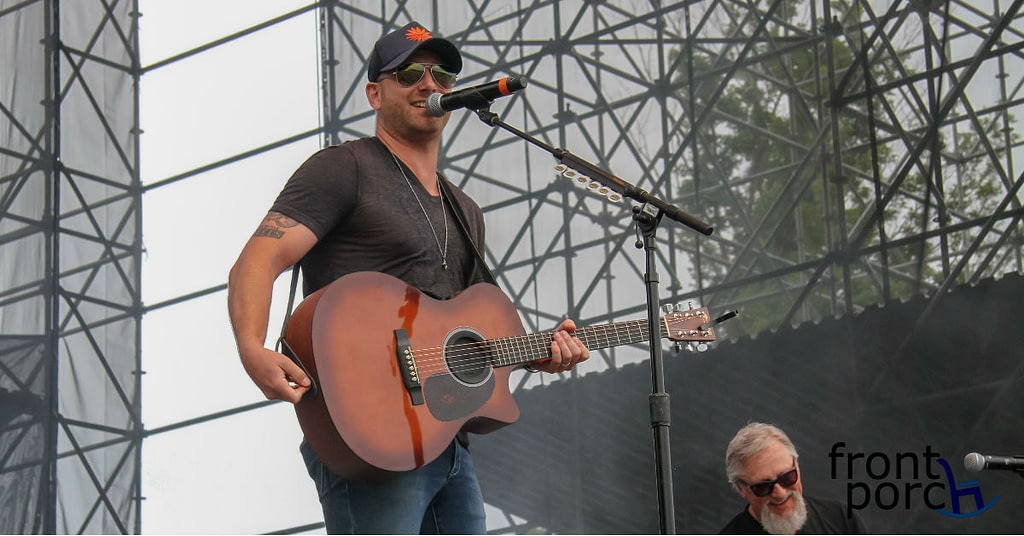 Tim Hicks performed an acoustic set at Big Sky Music Festival