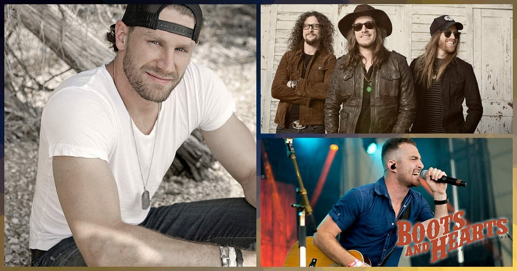 Chase Rice, The Cadillac Three, and Kris Barclay are performing at the 2019 Boots & Hearts Music Festival on Thursday